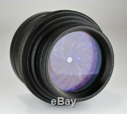 Russe Urss 18-lames Lomo Industar-37 Lens F4.5 / 300 Pour Grand Format (4)