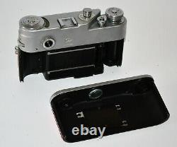 Russe Urss Fed 4 Red Corde Caméra + Industrier-61 Objectif, Full Set, Réparation (6)