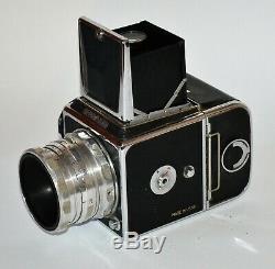 Russe Urss Salut Moyen Camera Format + Industar-29, F2.8 / 80 Lens, Coffret
