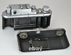 Russian Ussr Zorki 3m Caméra + Jupiter-8 Lentille, F2/50mm, Serviced (1)
