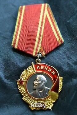 Russie Soviétique De Russie Urss Ordre De Lénine D'origine 100%