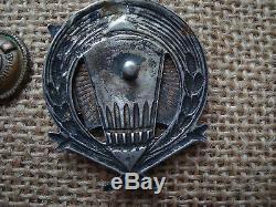 Russie Sovietique Russie Urss Medaille D'ordre Badge Argent Ogpu-nkvd Kgb 1917-1927