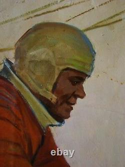 Russie Ukrainien Peinture À L'huile Soviétique Réalisme Grandiose Space Astronaut Équipage