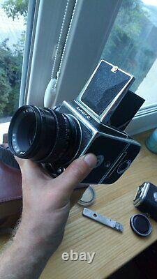 Salut C 6x6 Caméra MC Vega-128 Exc Rare 1979 Année Urss Hasselblad Copie