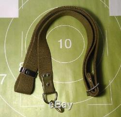 Sangle Sling Armée Soviétique Russe Toile Avec 1 Fasteners Métal Sks
