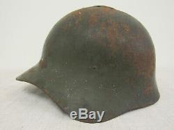 Seconde Guerre Mondiale Russe M36 Casque. Finnois Trophey