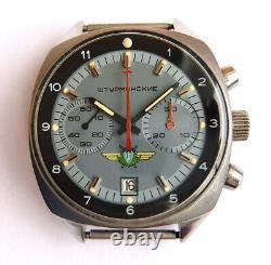 Shturmanskie 31659 Vintage Urss Montre Soviétique Russe Poljot Chronograph 5952