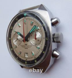 Shturmanskie Vintage Urss Montre Soviétique Russe Poljot Chronograph 3133 48155