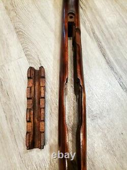 Sks Russian Soviet Solid Wood Stock, Never Issued, Vendeur Américain