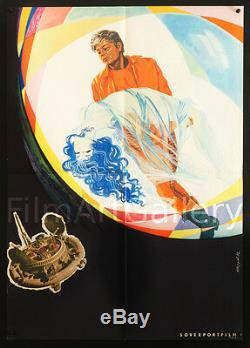 Solaris 1972 Orig! Affiche Russe De L'urss Andrei Tarkovski Tarkovsky Filmartgallery