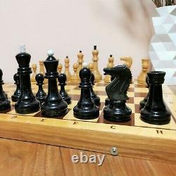 Soviétique Grossmeister Jeu D'échecs Russe Vintage Urss Tournoi Antique Pondéré