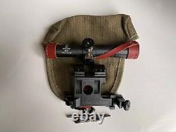 Soviétique Russe Mosin 91/30 Pu Sniper Scope Mount Combo Avec Bouchon D'objectif Et Toile