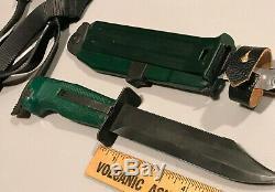 Soviétique Russe Nr-2 Couteau Scout, Avec Sangle Jambe Et Boîte, Nos, Extrêmement Rare, Htf