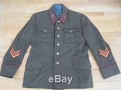 Soviétique Russe Ww2 Original 1940 Colonel D'infanterie Mundir