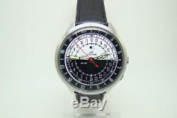 Spoutnik 1957 Mouvement D'origine Nuit Jour Raketa 2623 24 Heures Russian Watch