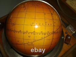 Star Celestial Globe Russe Fabriqué En Urss En 1970