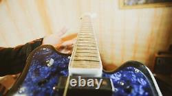 Stella Rostov Urss Rare Vintage Guitare Électrique Russe Soviétique Strat Jaguar Jazz