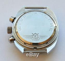 Sturmanskie Vintage Urss Montre Soviétique Russe Poljot Chronographe 31659 93653