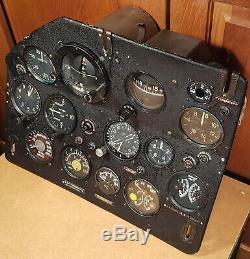 Tableau De Bord Aviation Du Cockpit An-2 Russe Airforce Mig Su Steampunk