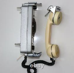 Téléphone Vintage Urss Soviétique Rare Marine Russe Téléphone De Navire Tournant, Disque Tac-m