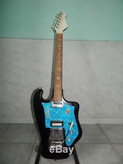 Tonika Sverdlovsk Urss Rare Vintage Guitare Electrique Soviétique Russe