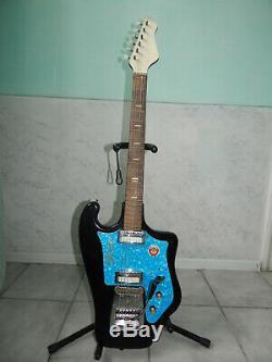 Tonika Sverdlovsk Urss Rare Vintage Guitare Électrique Soviétique Russe