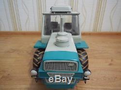 Tracteur Russe Soviétique Vintage T-150k Grand Modèle En Métal Échelle 110 Urss Look! Sensationnel