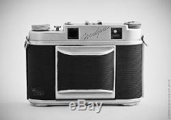 Très Rare Copie De Caméra Agfa Isolette Soviétique Soviétique Soviétique Vintage # 6210508
