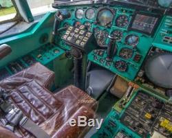 Un Avion Russe Soviétique Tu-144 Et Tu-154 Panneau Indicateur Cockpit Horizon Gyro Pkp