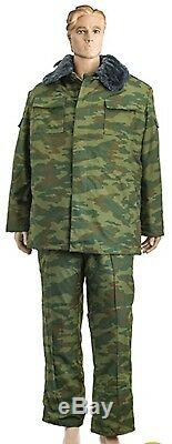 Uniforme D'hiver Camouflage Russe Vsr-98 Flora Costume Pantalon Camo Vkbo + Veste Urss