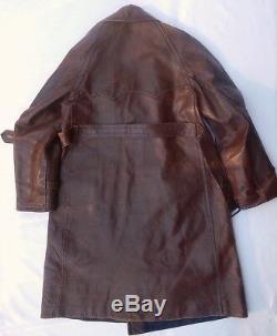 Uniforme De Manteau En Cuir De Pilote De Colonel D'aviation De La Russie Soviétique De La Russie Russe