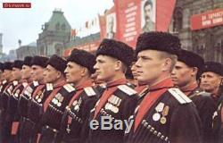 Uniforme Soviétique Russe. Tunique, Pantalon, Chapeau. Cosaque