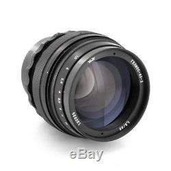 Union Soviétique Helios 40-2 85mm F / 1.5 Pour Canon Eos Camera, Livraison Gratuite Aux Etats-unis