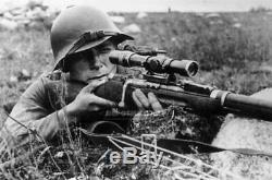 Unq Soviétique 1939 Pe Yemelyanov Portée Pour Mosin Tokarev Simonov Carabine Armée Russe