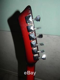 Ural 650 Urss Rare Vintage Guitare Électrique Soviétique Russe