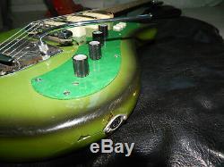 Ural 650 Ussr Rare Vintage Guitare Electrique Soviétique Russe