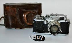 Urss Rare Russe Zorki 3 Leica Camera + Copy Lentille Jupiter-8, F2 / 50 MM (1)