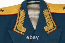 Urss Russe Défilé Général Dress Uniforme