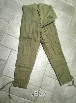 Urss Russe Militaire Ww2 D'hiver Fufaika Vatnik Telogreika Veste + Pantalon Setsize3