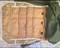 Urss Russe Nii Stali Bulletproof Body Armor 6b5-14 Version Steel Rare