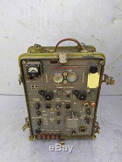 Urss Russe Vintage Soviétique Champ Opérateur Radio Militaire De L'armée R-407