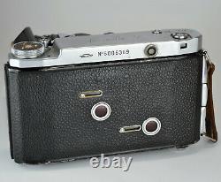 Urss Russie Moskva-5 6x6 Et 6x9 Format Moyen Camera, En Box (item 1)