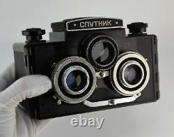 Urss Russie Sputnik 6x6 Stereo Format Moyen Camera (2)