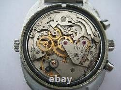 Urss Soviet Russian Sturmanskie Poljot Cal. 3133 Chronograph Watch 23 Jewels