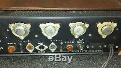 Ussr Russian Amplificateur Stéréo Vintage Germanium À L'état Solide