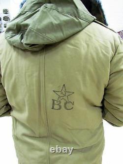 Véritable Uniforme D'hiver De L'armée Soviétique Russe Pour Tankman Afghanka. Nouveau
