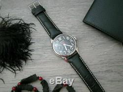 Vintage Molniya Bracelet Mécanique Russe Aviator Origina Armée Urss Marriage