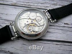 Vintage Molniya Molnia Soviétique Urss Russe Montre Bracelet Mécanique Originale Homme