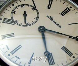 Vintage Molniya Wristwatch Mécanique Mariage Urss Mode Armée Soviétique Russe