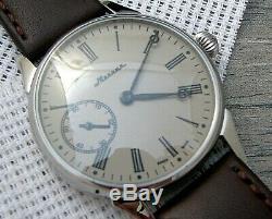 Vintage Montre Bracelet Original Mécanique Rare Mariage Russe Soviétique Soviétique